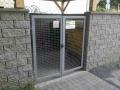 Kovaná brána povrchově upravená termoplastem pro dlouhou životnost_2